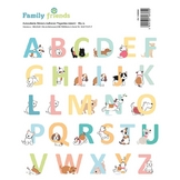 Autocollant Alphabet Family Friends Chiens