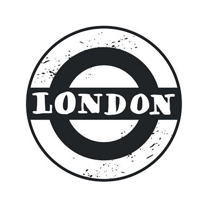 Tampon bois Woodies London Underground 3 cm
