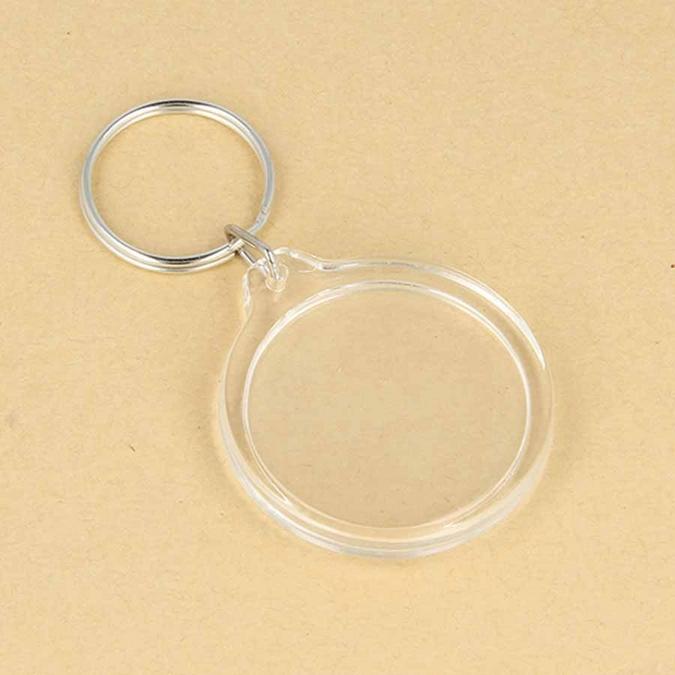 Porte-clés Photo rond 3,5 cm 4 pcs