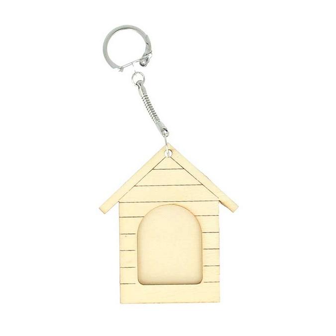 Porte-clés Niche en bois 6,3 x 7 cm
