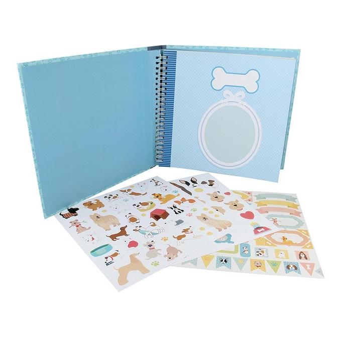Album kit Family Friends Chiens 20 x 20 cm