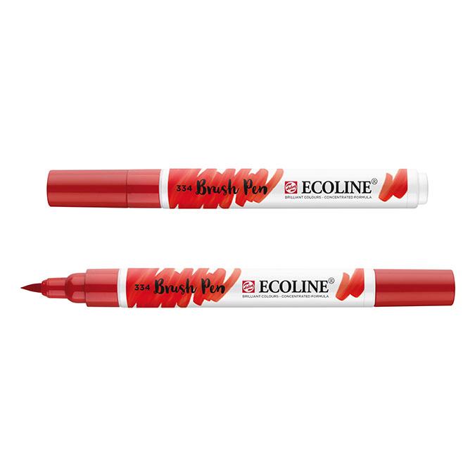 Feutre pinceau Ecoline Brush Pen encre Aquarelle 656 Vert forêt
