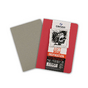 Carnet dessin A6 Art Book Inspiration 96 g/m² Lot de 2 Rouge / Gris