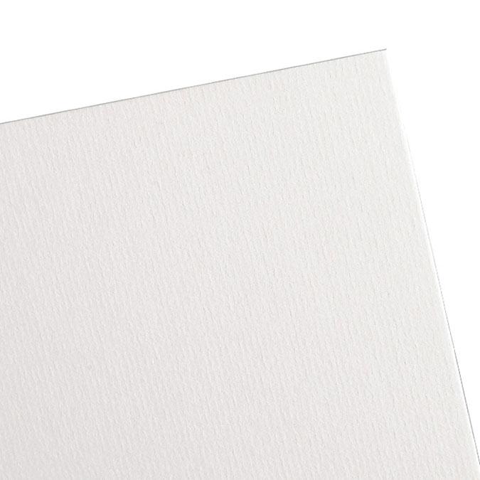 Contrecollé Ingres Vidalon Vergé 100 x 150 cm ep.1,5 mm Blanc