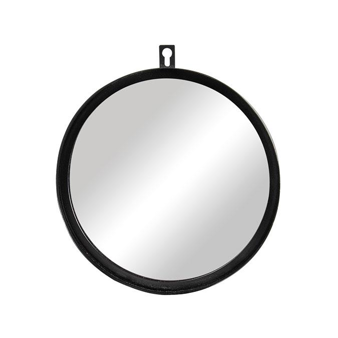 Miroir en métal 18 cm Ø 3 cm Pin&Peg