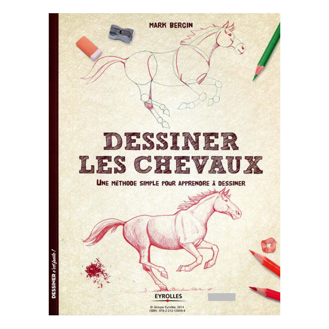 Livre Dessiner les chevaux