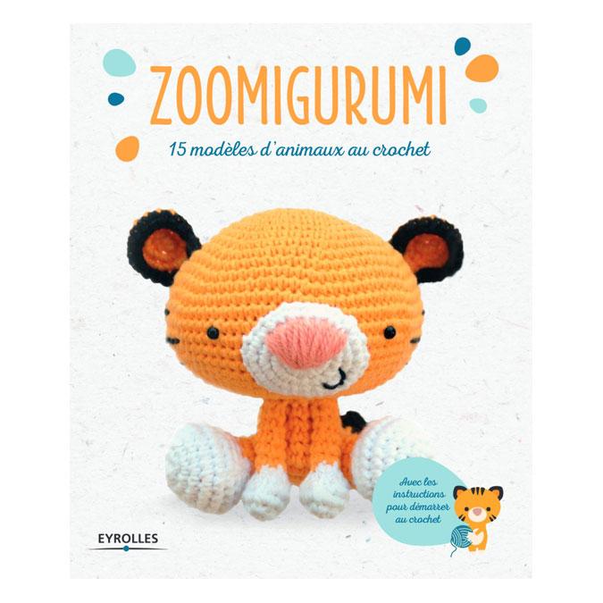 Livre Zoomigurumi 15 modèles d'animaux au crochet