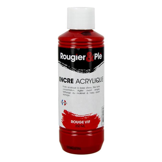 Encre acrylique 250 ml Noir