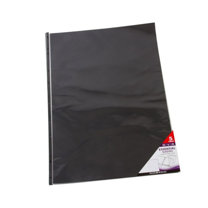 Pochette transparente Press Book Graduate A1 59,4 x 84,1 cm - 5 pcs
