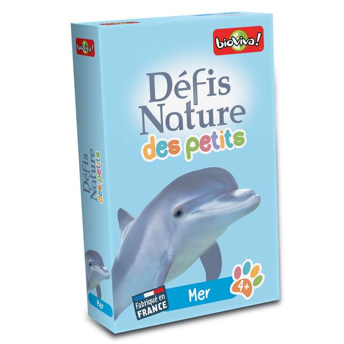 Jeu de cartes Défis nature des petits Mer