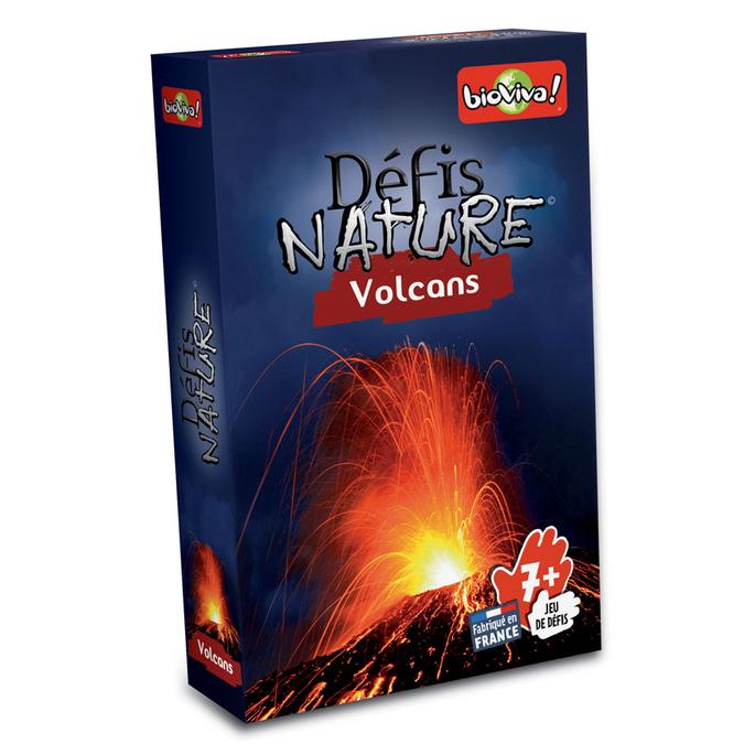 Jeu de cartes Défis nature Volcans