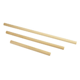 Tige en bois Support macramé Set 3 pcs