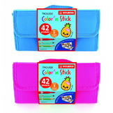 Trousse de coloriage Stick'N Color Feutres + Autocollants