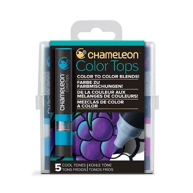 Embout Color Tops pour marqueur Chameleon 5 tons Moderne cool