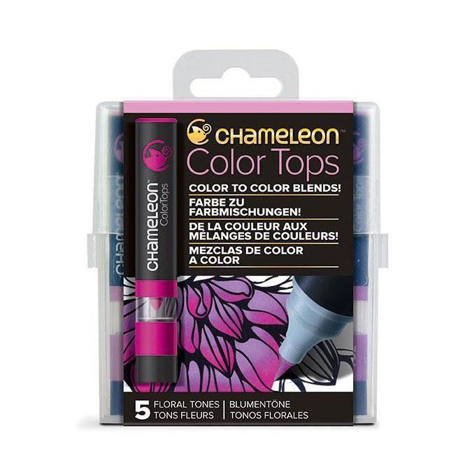 Embout Color Tops pour marqueur Chameleon 5 tons Floraux