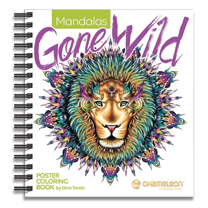 Livre de coloriage Mandalas Gone Wild