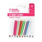 Mini canes Assortiment Feuilles pétales x 10 pcs