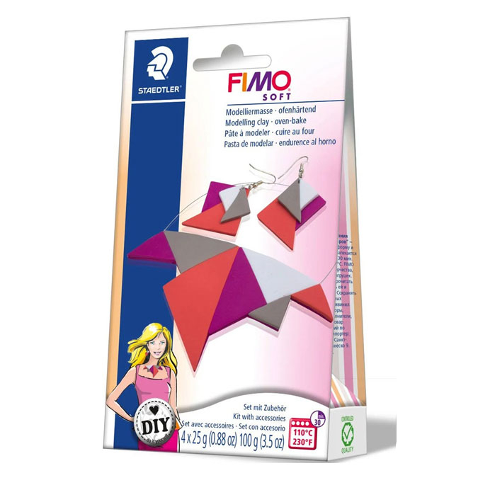 Kit FIMO Soft Bijoux triangle