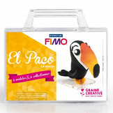 Kit figurine FIMO Paco le toucan