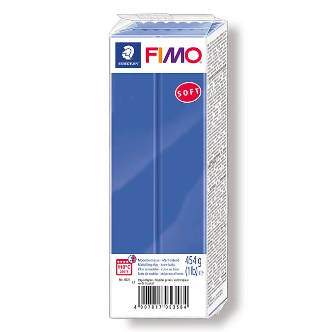Pâte à modeler polymère Fimo Soft 454 g 16 - Tournesol