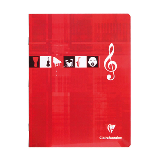 Cahier Musique & Chant 17 x 22 cm 56 p Seyès