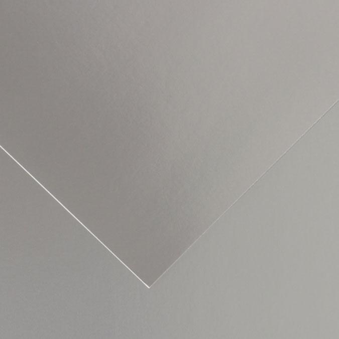 Feuille de papier Iris Vivaldi 280 g/m² Argent