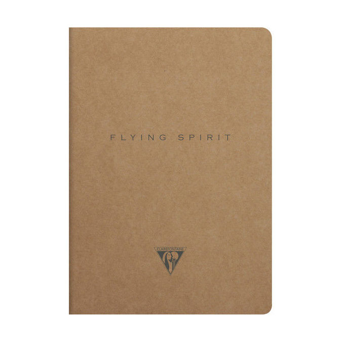 Carnet Flying Spirit kraft 14,8 x 21 cm 96 pages Lignées 90g/m²