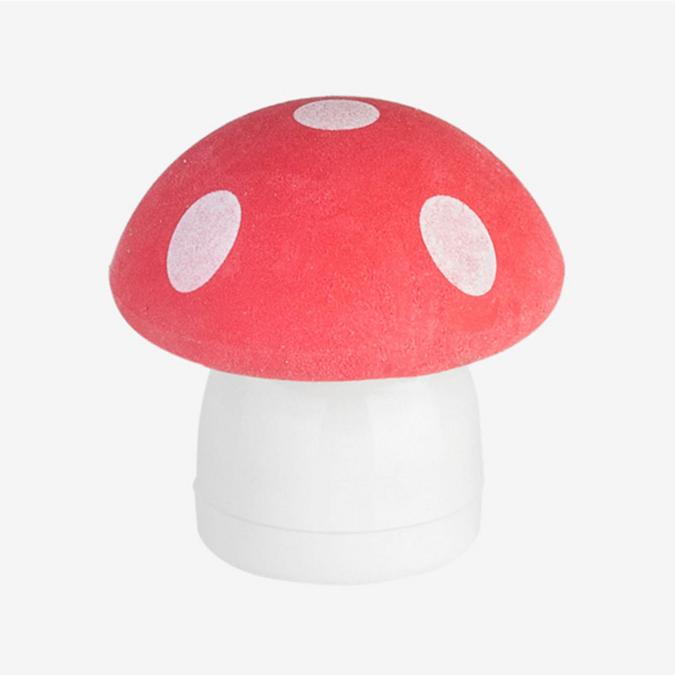 Gomme avec taille crayon champignon