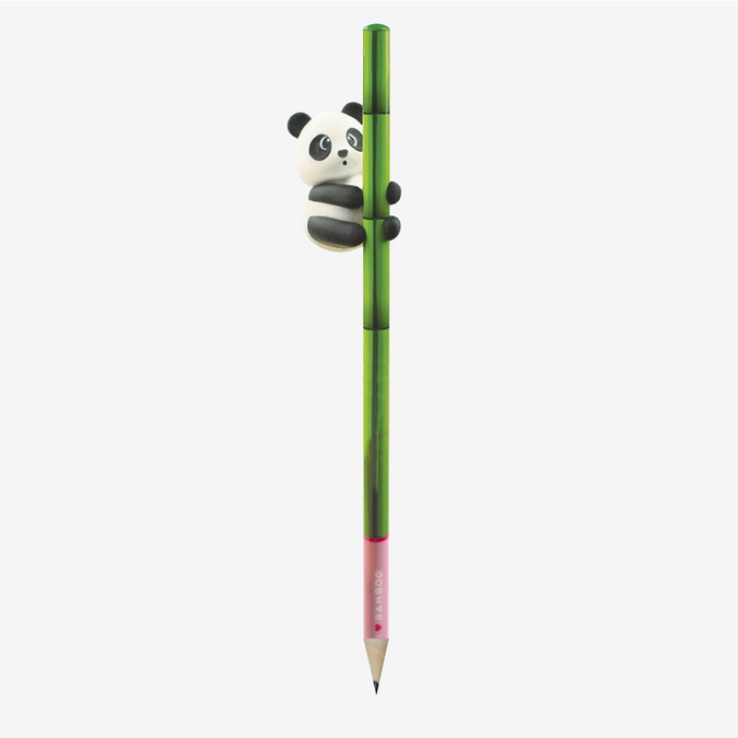 Crayon Panda avec gomme