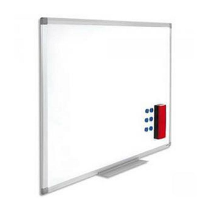 Tableau effaçable blanc laqué 60 x 90 cm