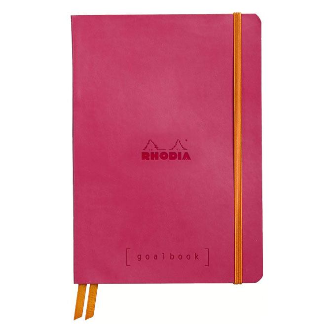 Carnet Rodhiarama GoalBook A5 240 p Framboise
