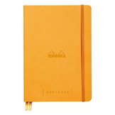 Carnet Rodhiarama GoalBook A5 240 p Orange