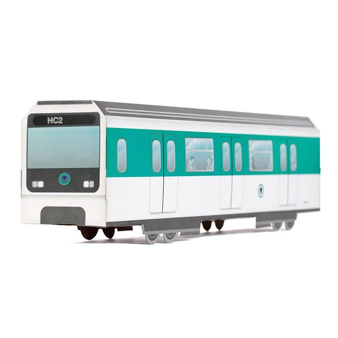Maquette Métro de Paris MTN Systems