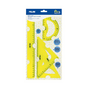 Kit de traçage Flexible Jaune 4 pcs