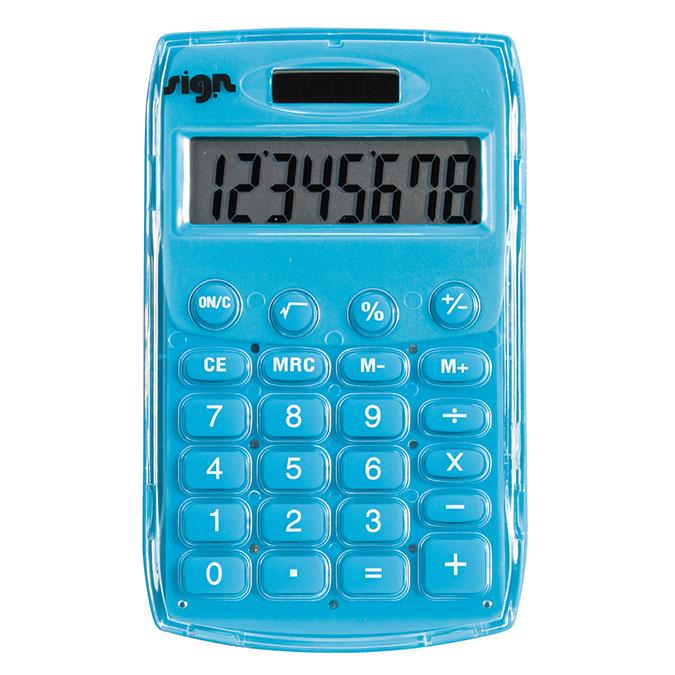 Calculatrice de poche solaire 8 chiffres