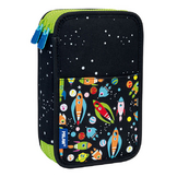 Plumier 2 compartiments Super Heroes Space