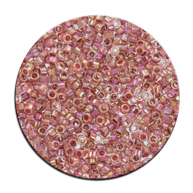 Perles Toho 11/0 inside color effet brillant irisé 3g