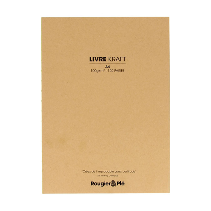 Livre papier Kraft 100 g/m² 120 feuilles