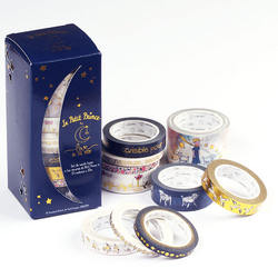 Washi tapes 10 m Les Rêveries du Petit Prince 10 pcs
