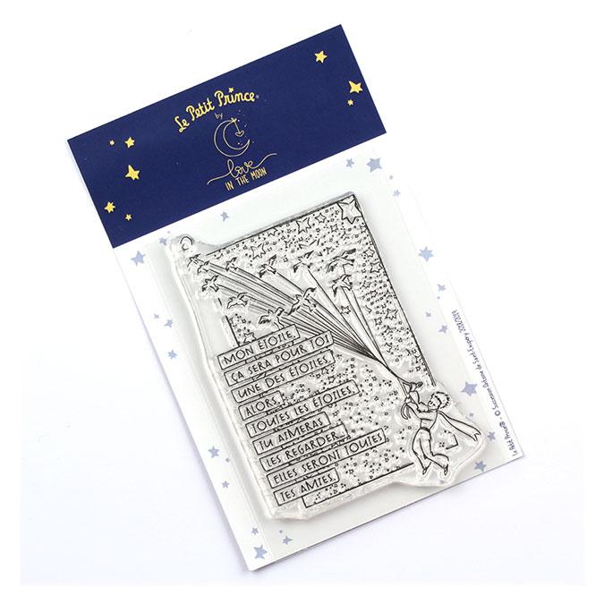 Tampon transparent Les secrets du Petit Prince : Mon étoile