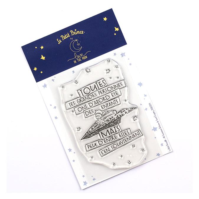 Tampon transparent Les secrets du Petit Prince : Les grandes personnes