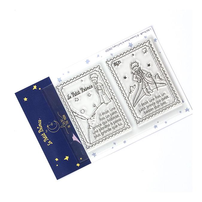 Tampons transparents timbre Les secrets du Petit Prince : B612