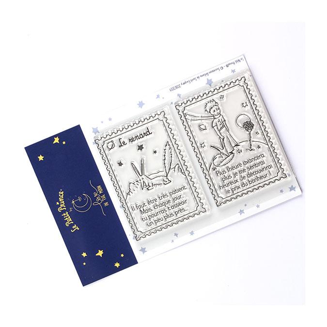 Tampons transparents timbre Les secrets du Petit Prince : Le renard