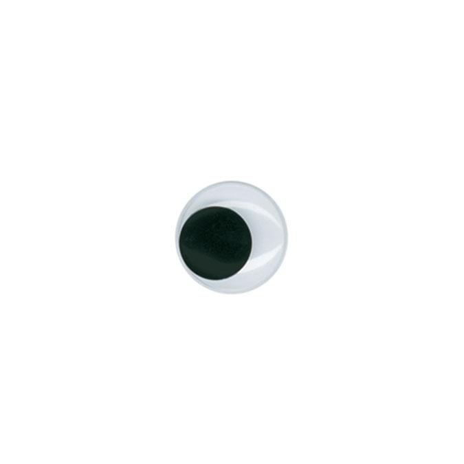 Yeux mobiles Noir Ø 5 mm 20 pcs