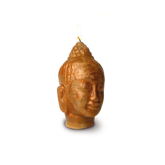 Moule à bougie en latex Bouddha 11 cm
