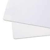 Thermoplastique blanc lisse Pearly Art 1 x 1,5 m