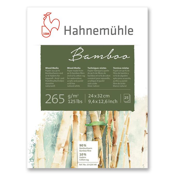 Bloc de papier bamboo multitechniques 265 g/m²