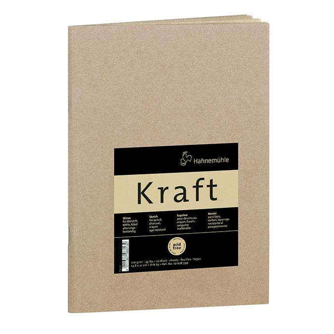 Carnet de croquis Kraft 120g/m² A5 20 feuilles