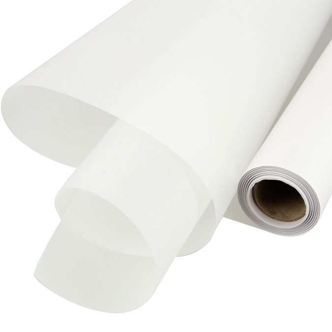 Rouleau de calque 45 g/m² 37,5 cm x 20 m