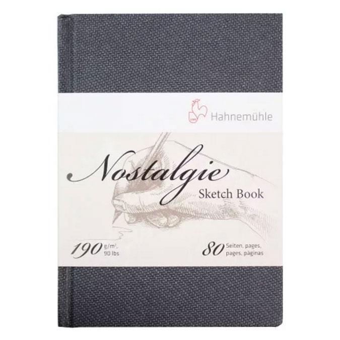 Livre de papier croquis Nostalgie 190 g/m² - 80 pages Portrait